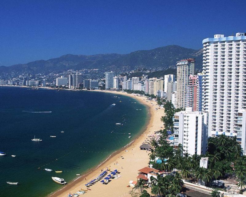Plaja din Acapulco