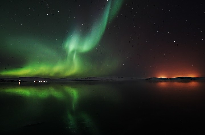 Auroră polară, Islanda