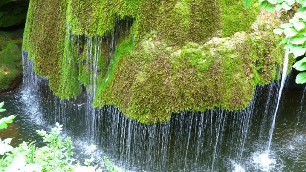 Cascada Bigăr în prim-plan
