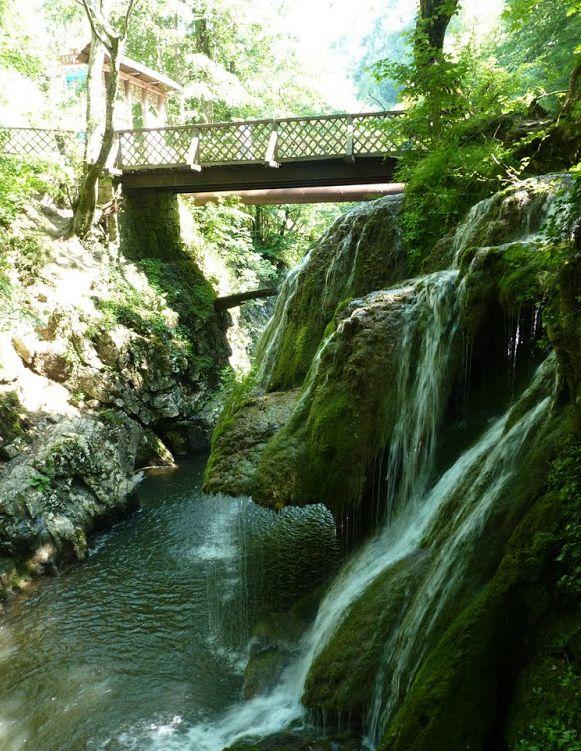 Cascada Bigăr și podul de deasupra