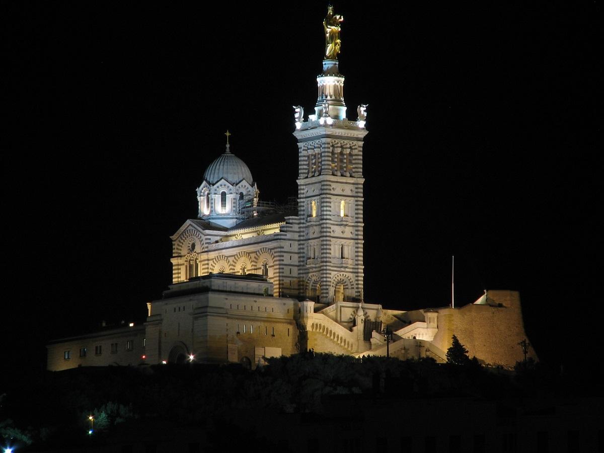 Biserica Notre Dame de la Garde, Marsilia