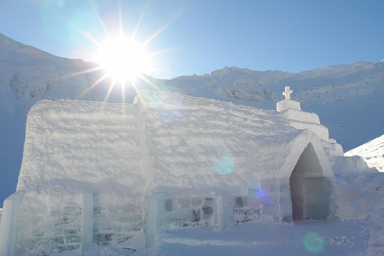 Biserica de Gheaţă, Bâlea Lac 2009