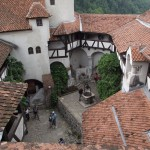 Castelul Bran, curtea interioară