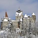 Castelul Bran iarna