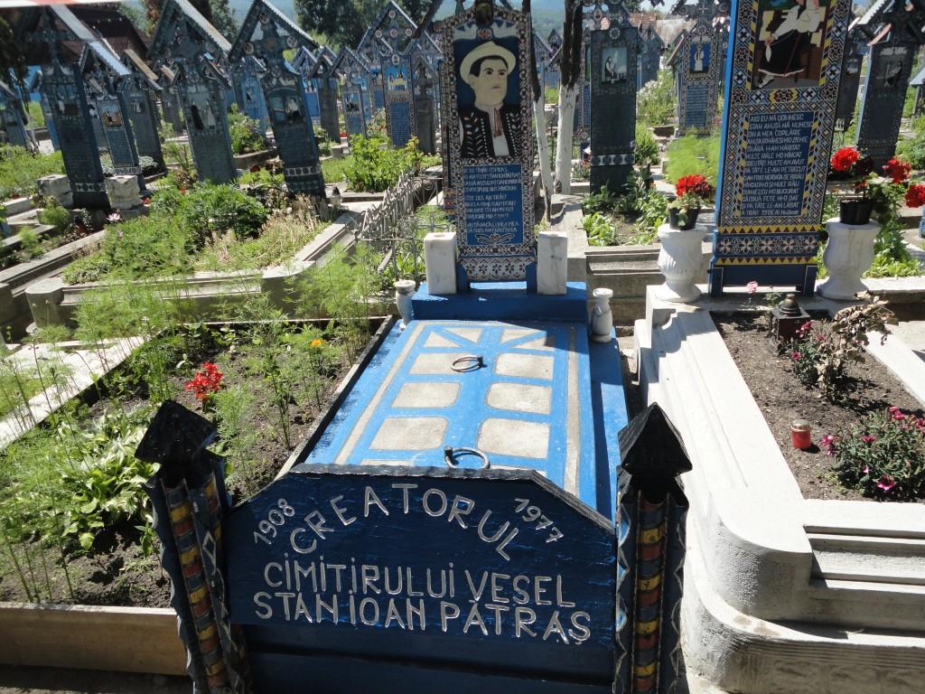 Cimitirul Vesel de la Săpânța, mormântul lui Stan Ioan Pătraș