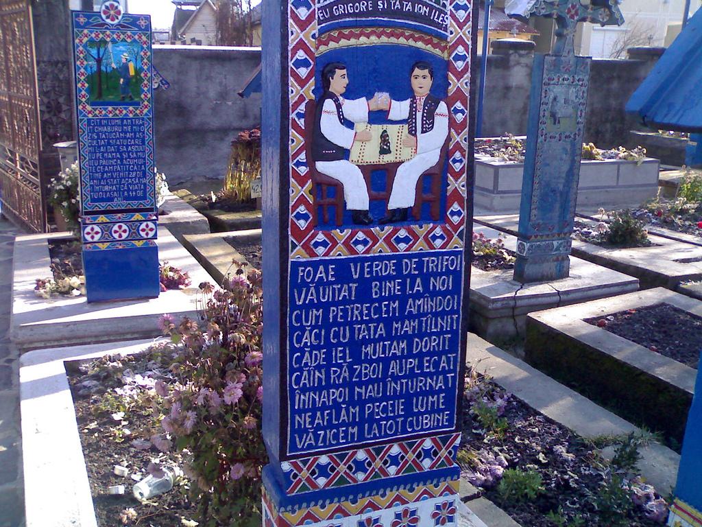 Cimitirul Vesel de la Săpânța, veselia reîntâlnirii