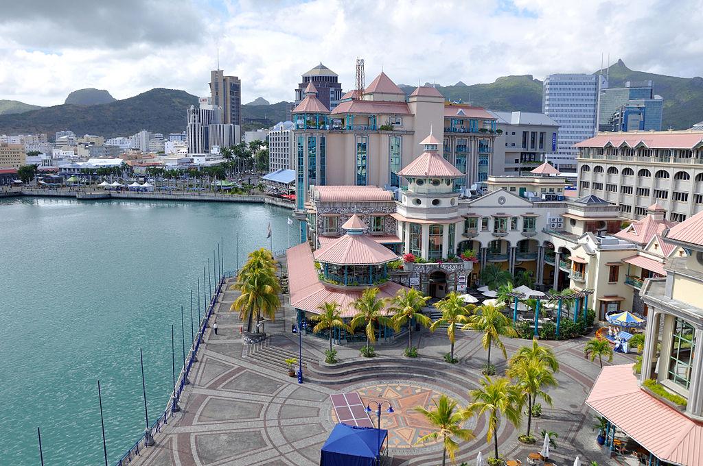 Galeria comercială Le Cauden Waterfront, Port Louis, Mauritius