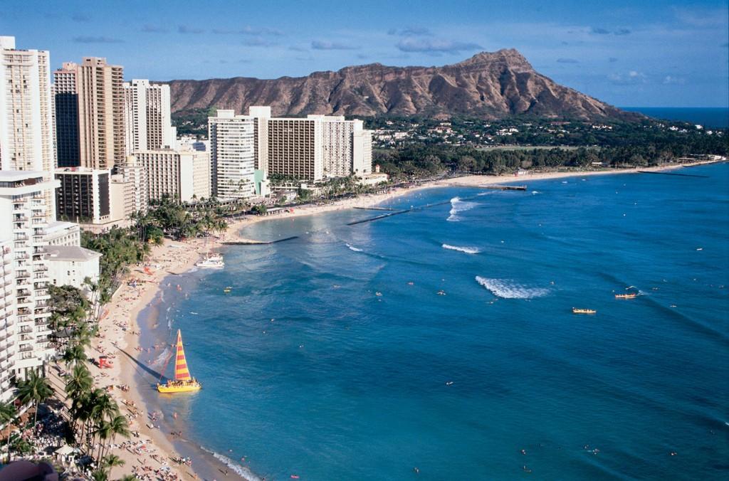 Honolulu plaja