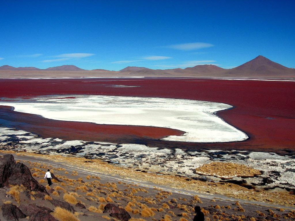 Laguna Roşie, Bolivia