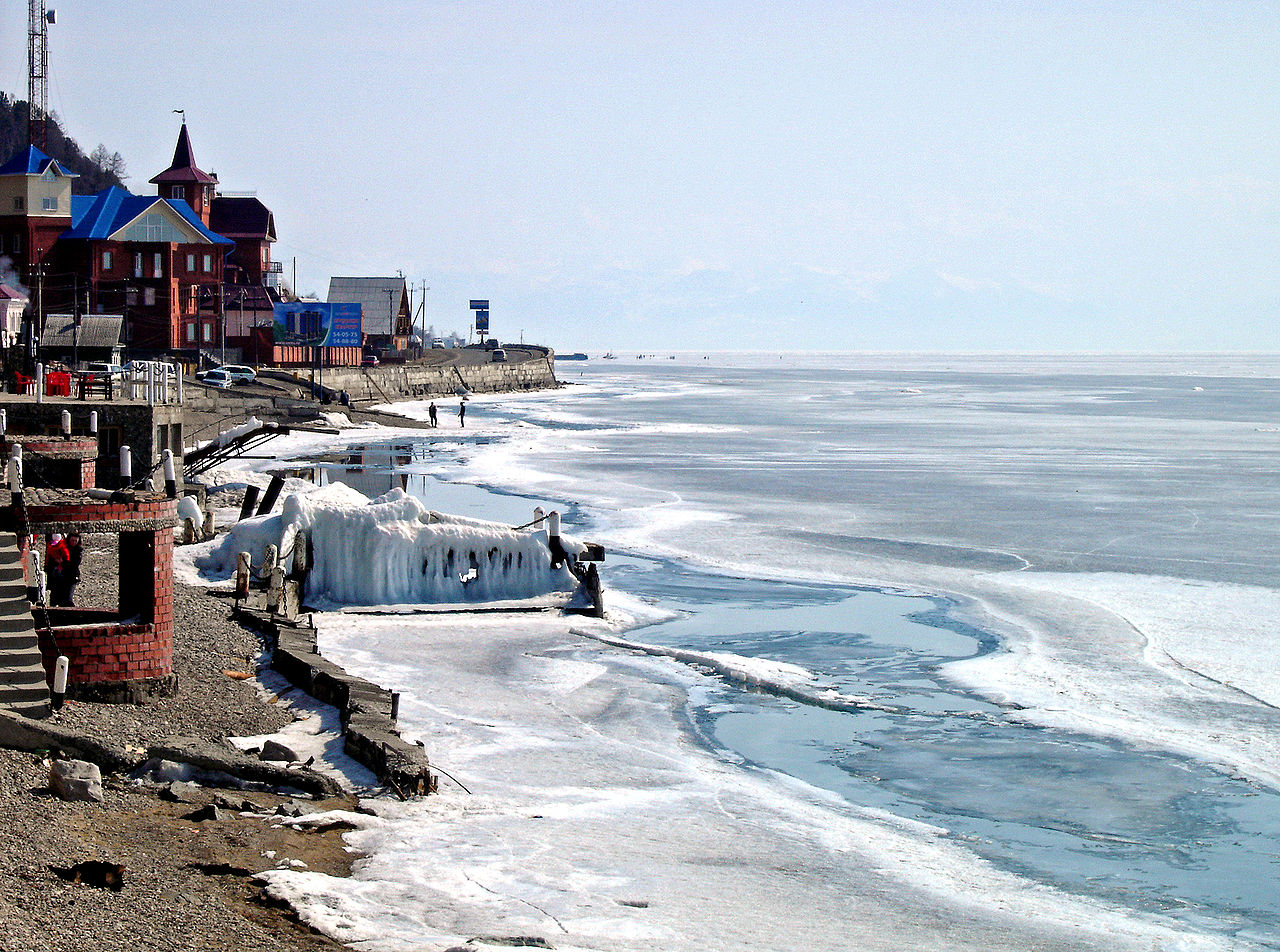 Listvyanka, Lacul Baikal, Rusia