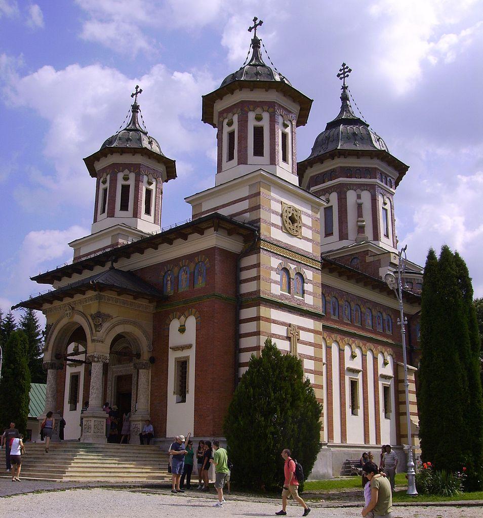 Mănăstirea Sinaia, reconstruită