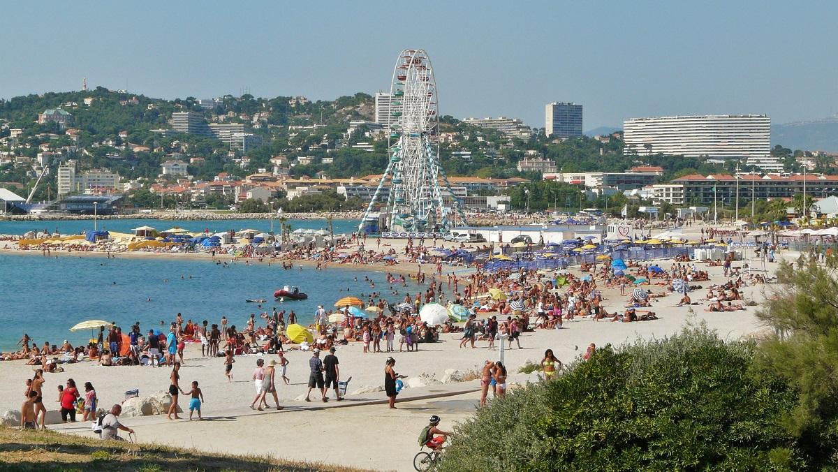 Marsilia, una dintre frumoasele sale plaje