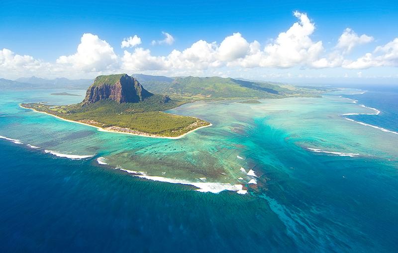 Mauritius Cascada Subacvatica
