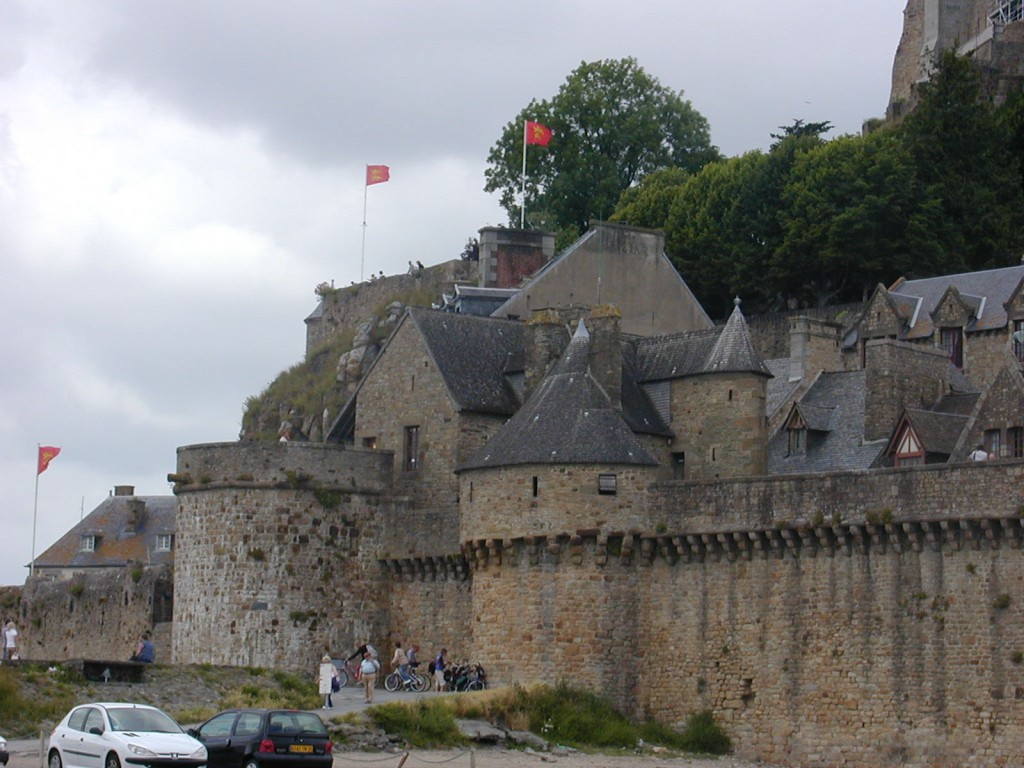 Muntele Saint Michel zidurile