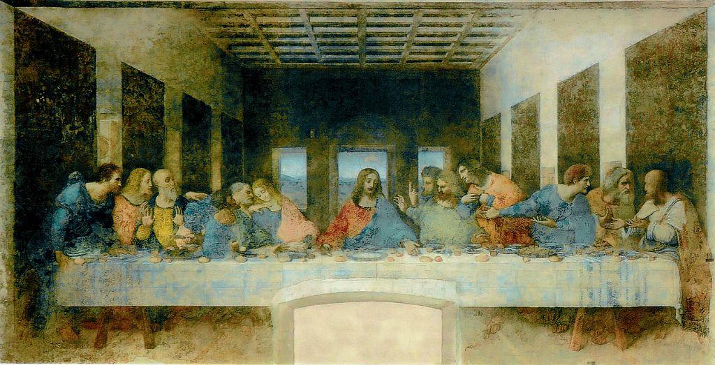 Pictura murală Cina cea de taină din Biserica Santa Maria della Grazie, Milano