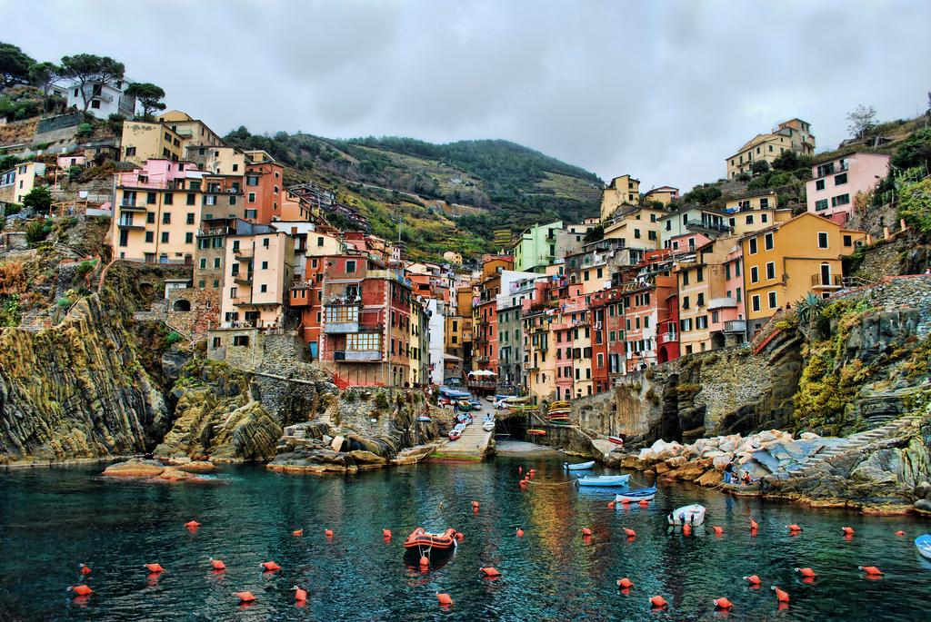 Riomaggiore, Cinque Terre, Italia