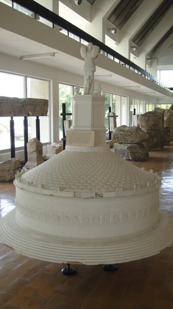 Tropaeum Traiani macheta edificiului
