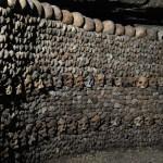 Zid din oase, Catacombele Parisului