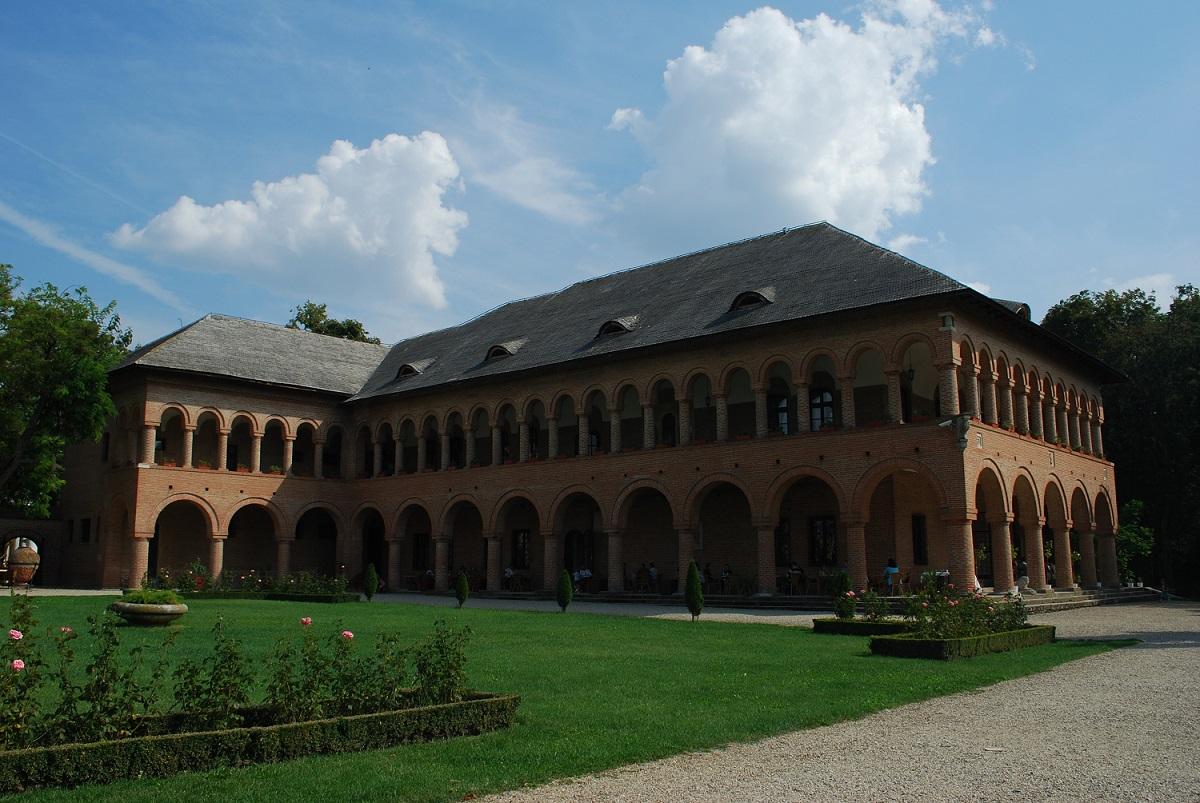 Camerele de oaspeti din Palatul Mogoşoaia