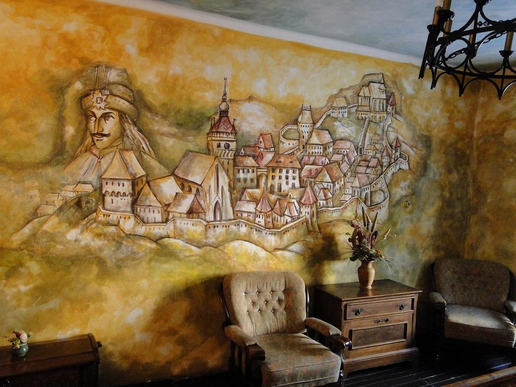 Interior din Casa Vlad Dracul