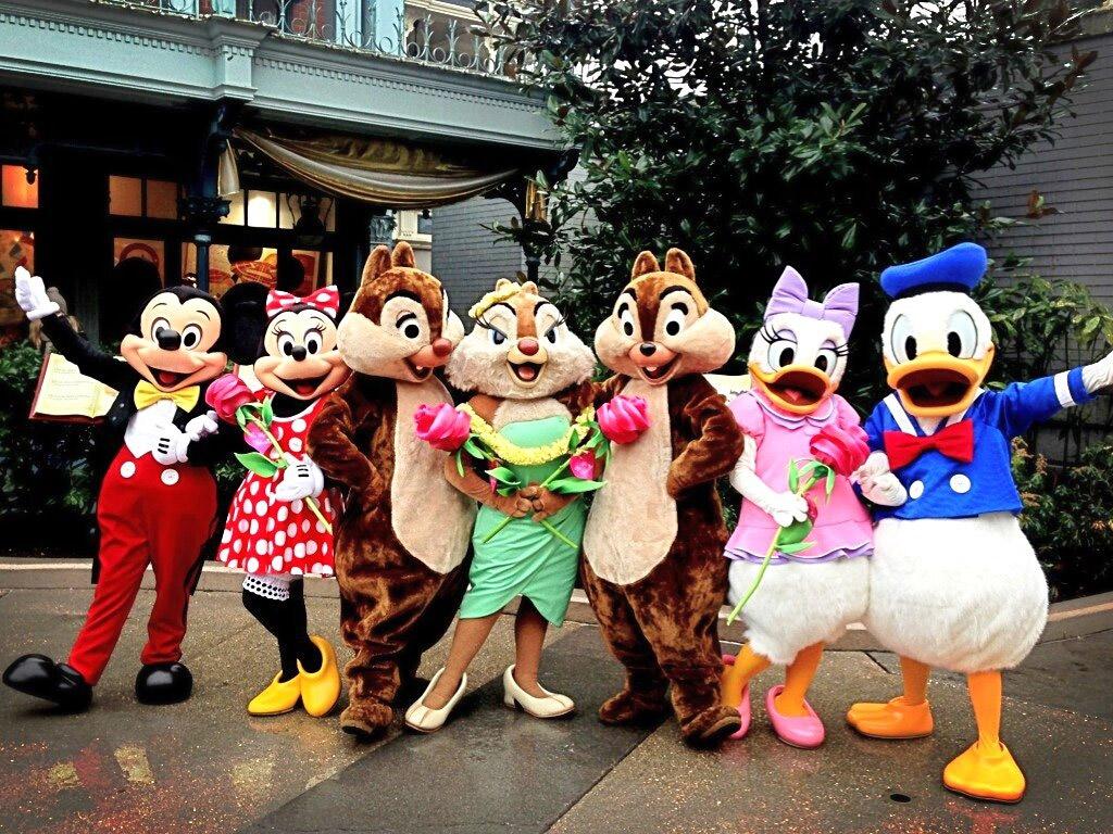 Personaje Disney, mult îndrăgite de copii
