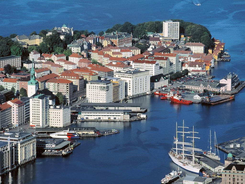 Norvegia văzută de sus