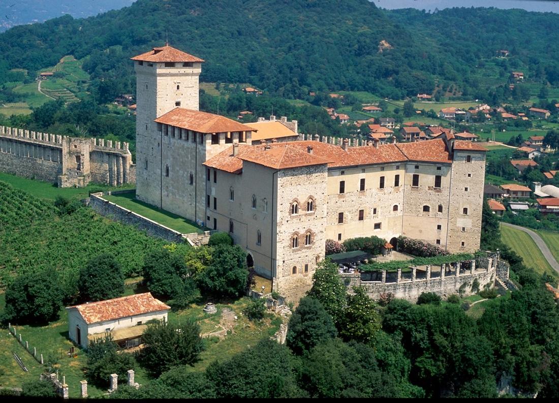 Palatul Borromeo, Insula Madre
