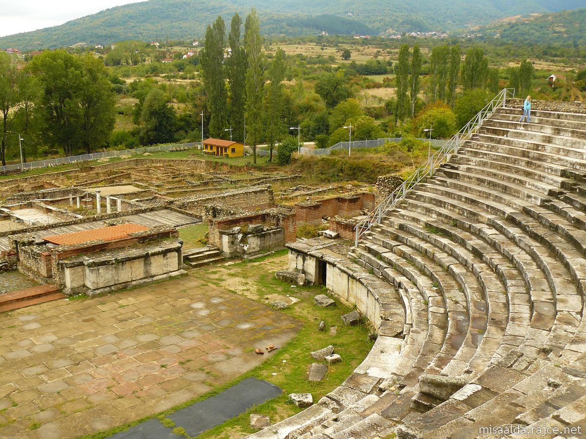 Amfiteatru în Heraclea Lyncestis
