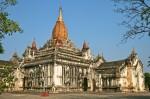 Ananda, cel mai important templu din Bagan, Birmania