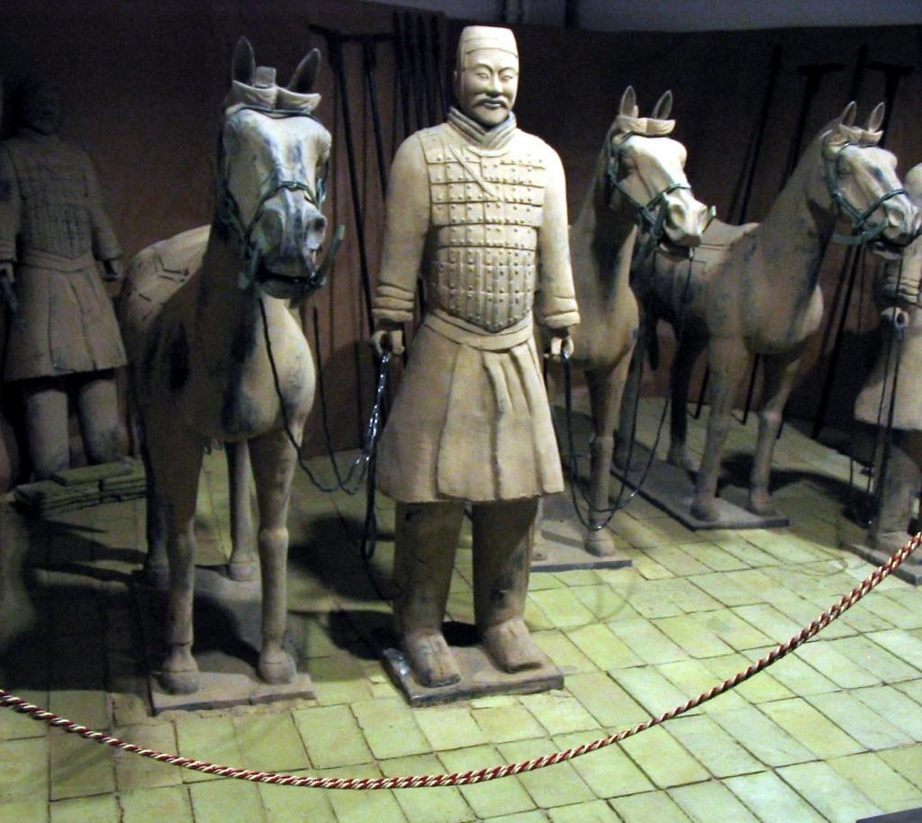 Armata de Teracotă, statui aproape vii