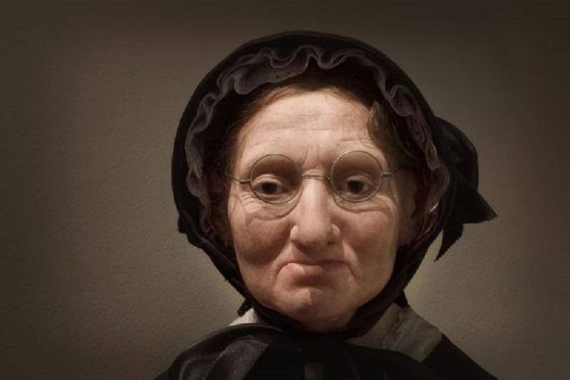 Autoportret realizat din ceară de către Marie Tussauds