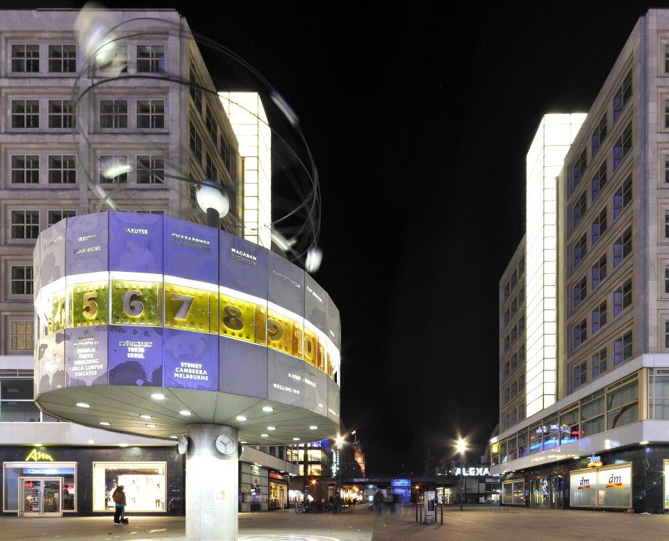 Berlin, Alexanderplatz noaptea