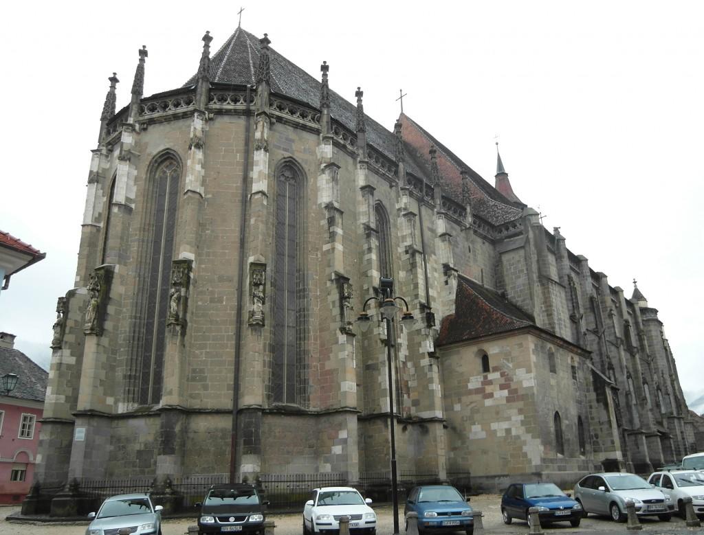 Biserica Neagră, cea mai mare construcție gotică din Sud Estul Europei