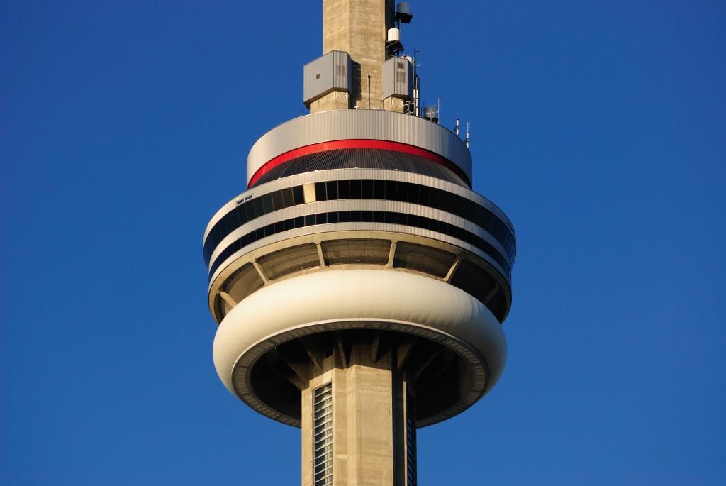 CN Tower, zona principala de observatie