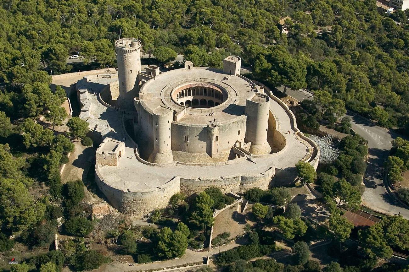Castelul Bellver, Palma, Mallorca