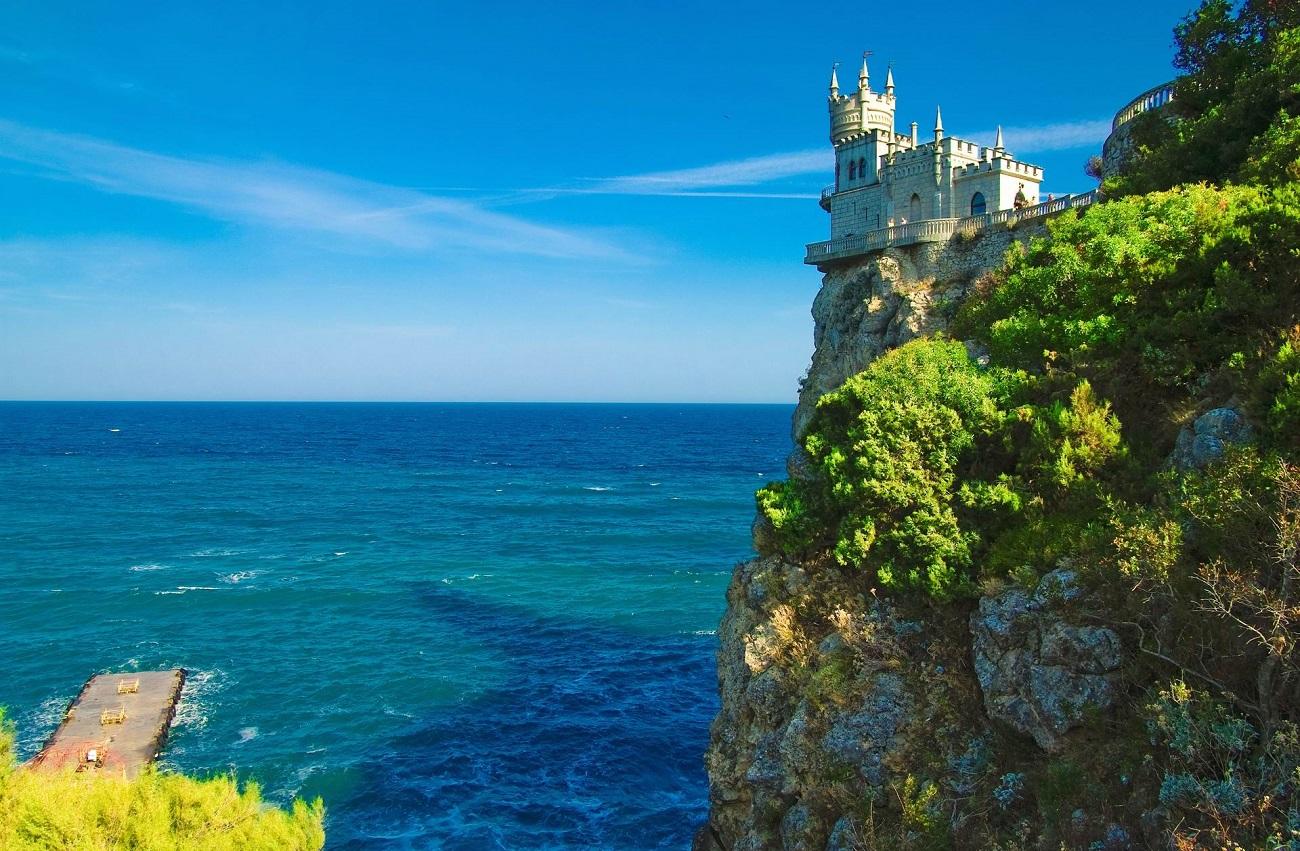 Castelul Cuibul Rândunicii, Ucraina.