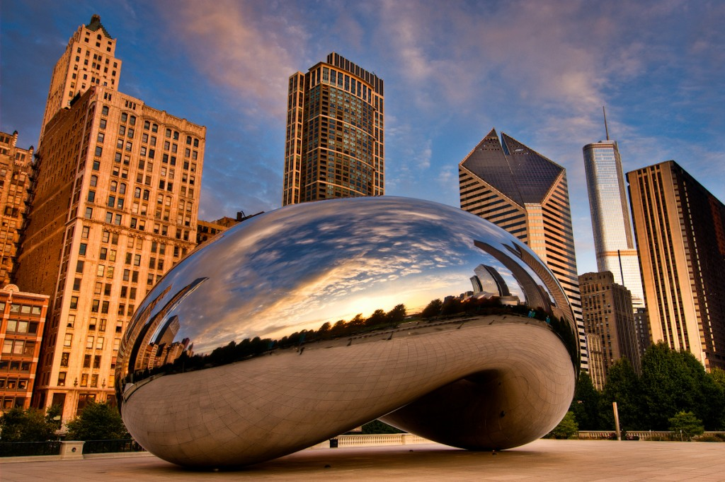 Chicago bean and life