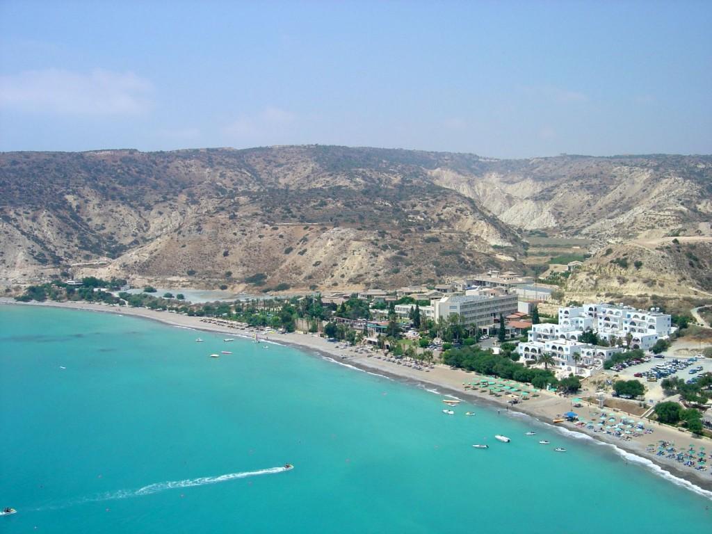 Cipru, una din statiunile de pe insula