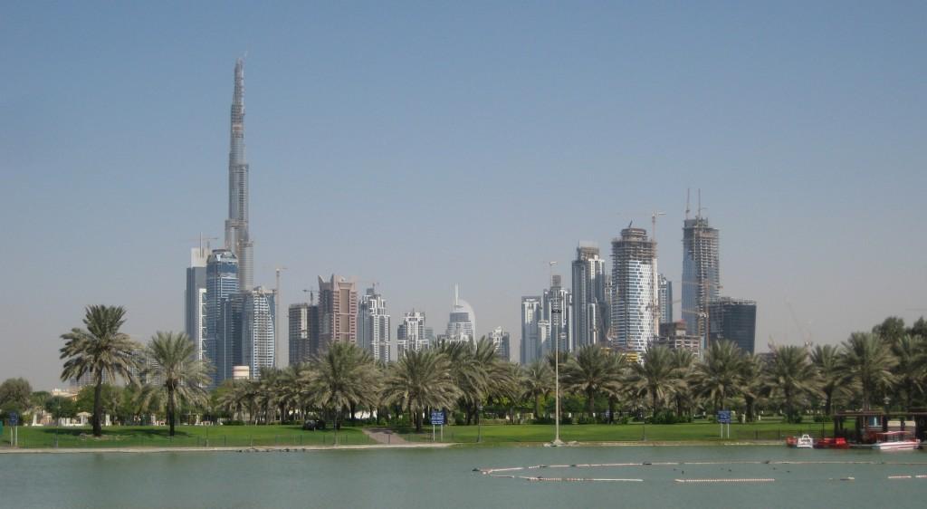 Dubai, parcul Al Safa