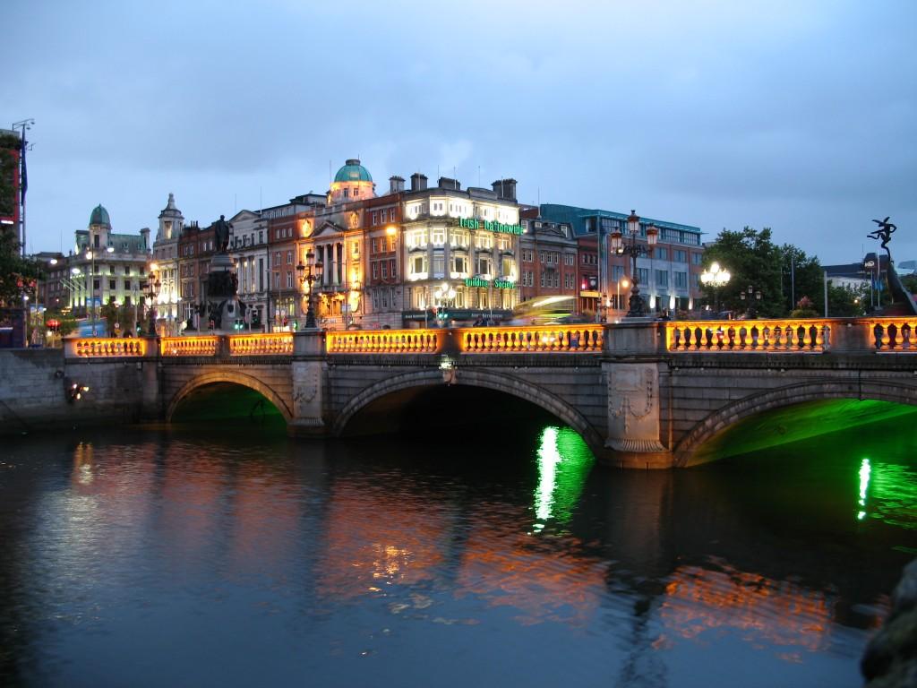 Dublin, când se lasă seara