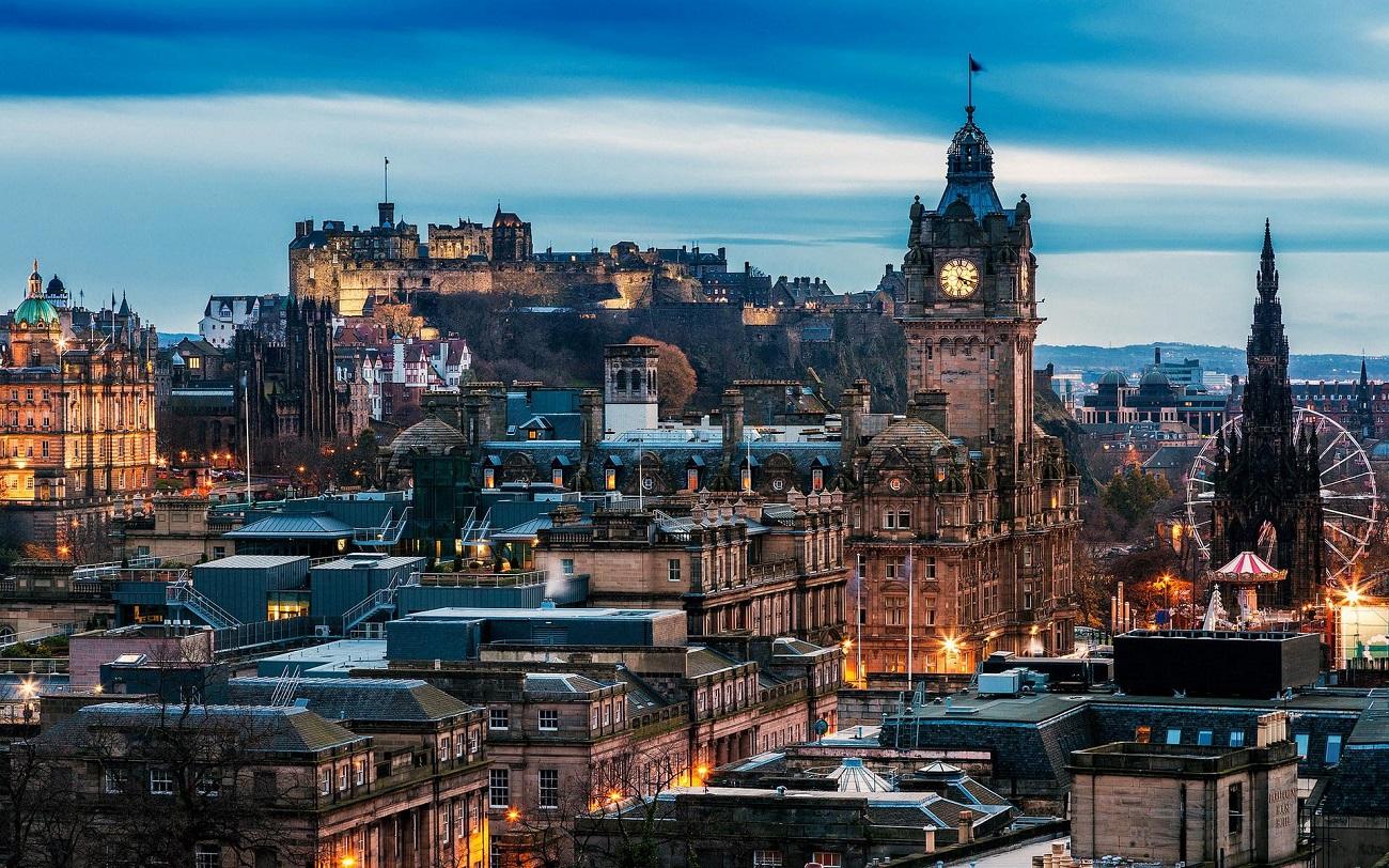 Edinburgh, panorama oraşului