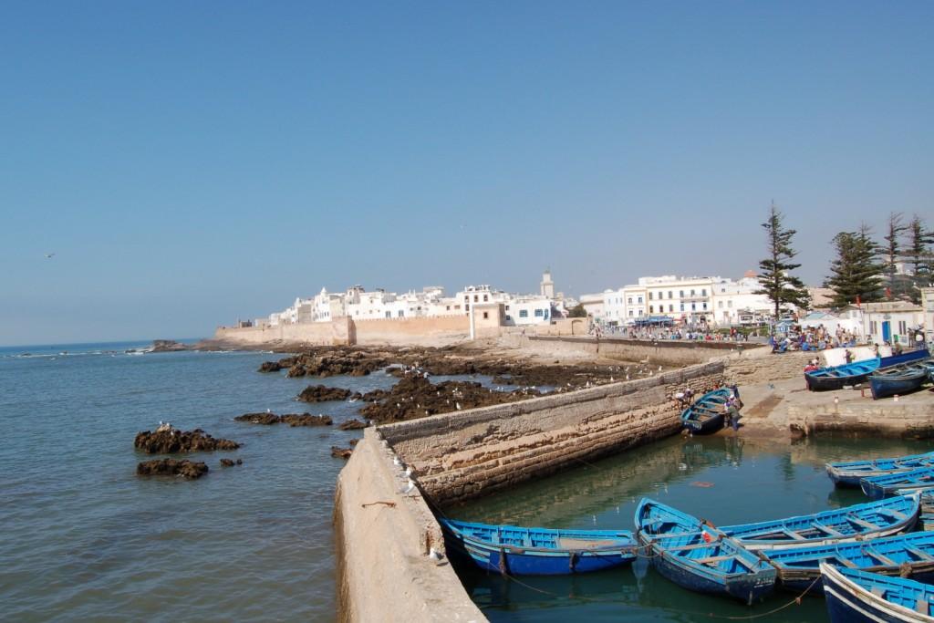 Essaouira, port de pescari în Maroc