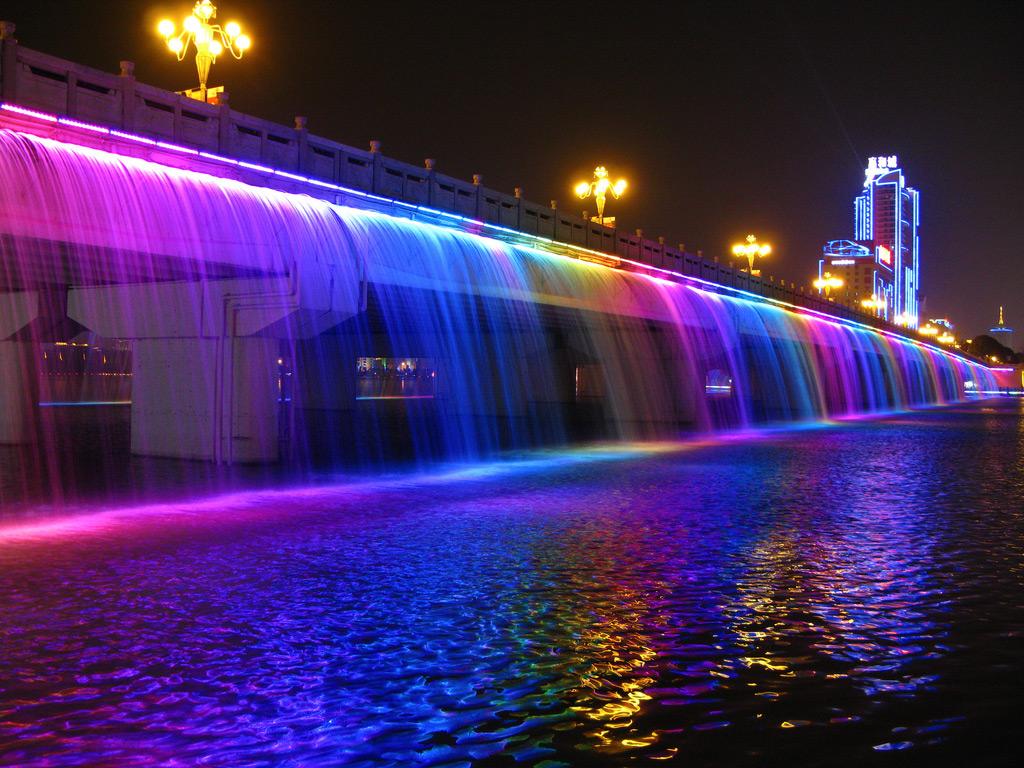 Fântâna Curcubeului din Seoul