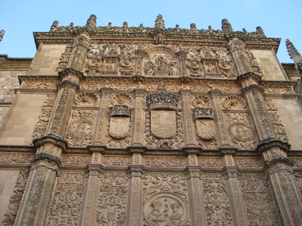 Fațada Universității din Salamanca