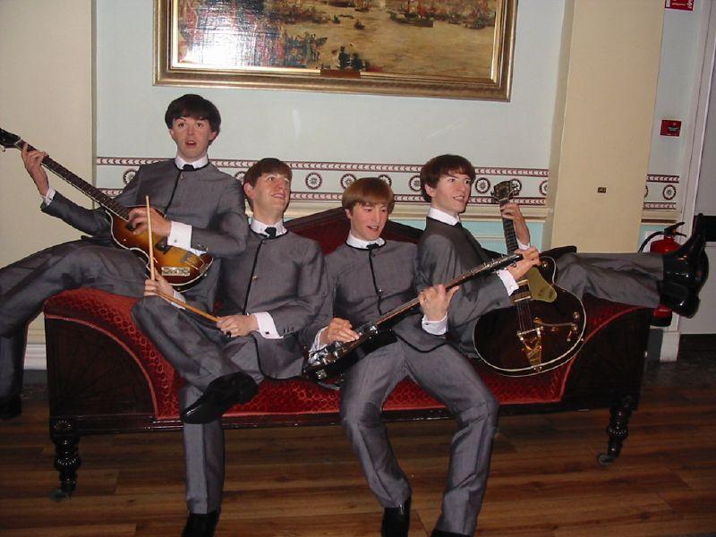Formaţia The Beatles sculptată în ceară, Muzeul Madame Tussauds