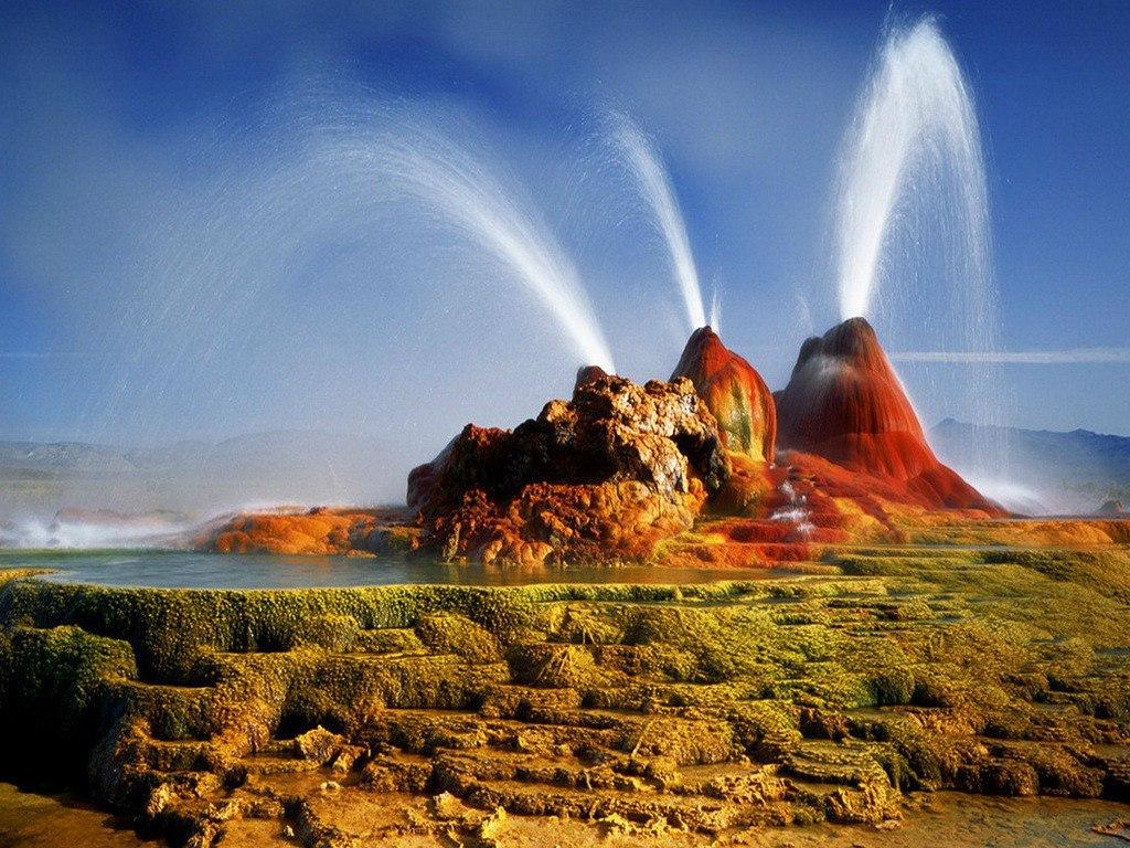 Gheizerul Zburător, Nevada