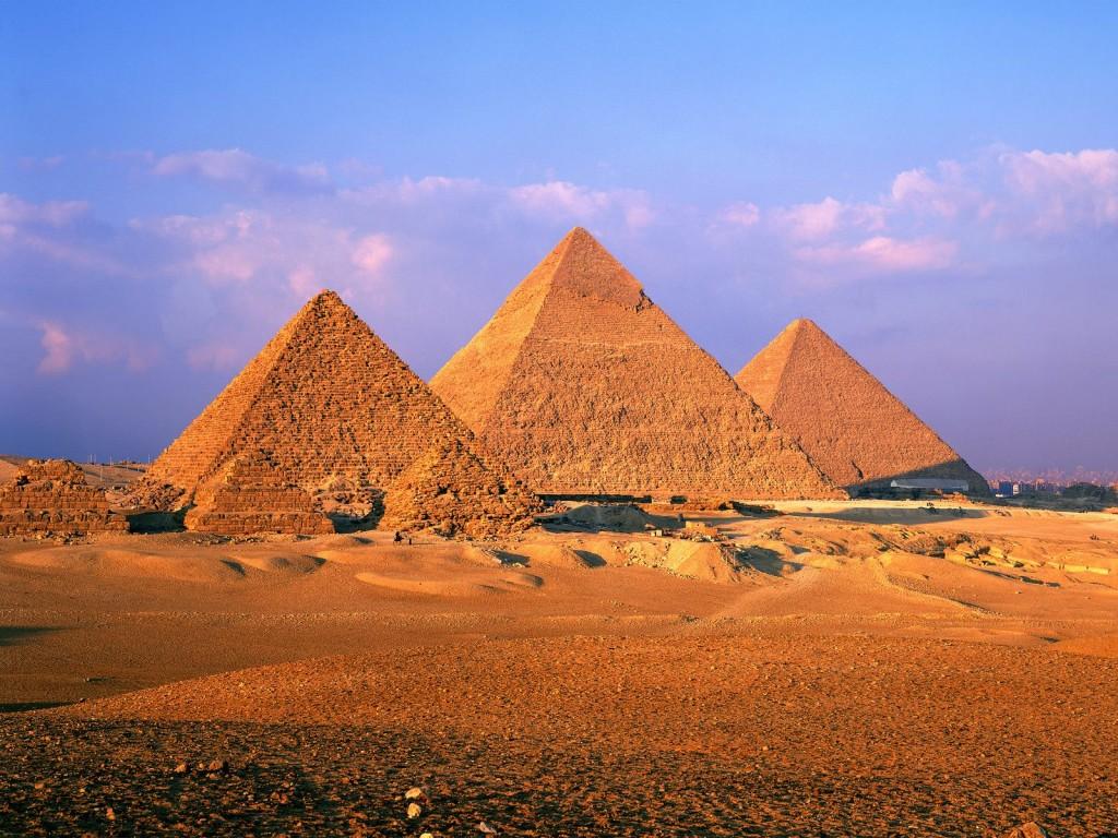 Giza asa cum se arata turistilor veniti aici