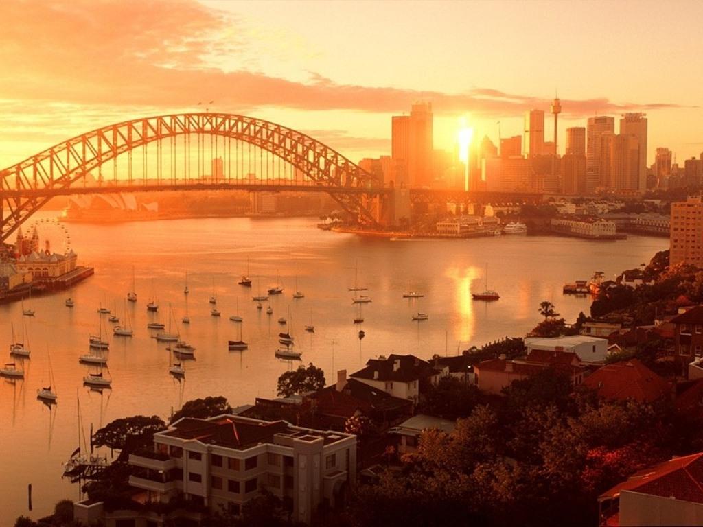 Golful Sydney la răsărit