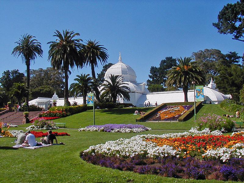 Gradina botanică, Parcul Golden Gates, San Francisco