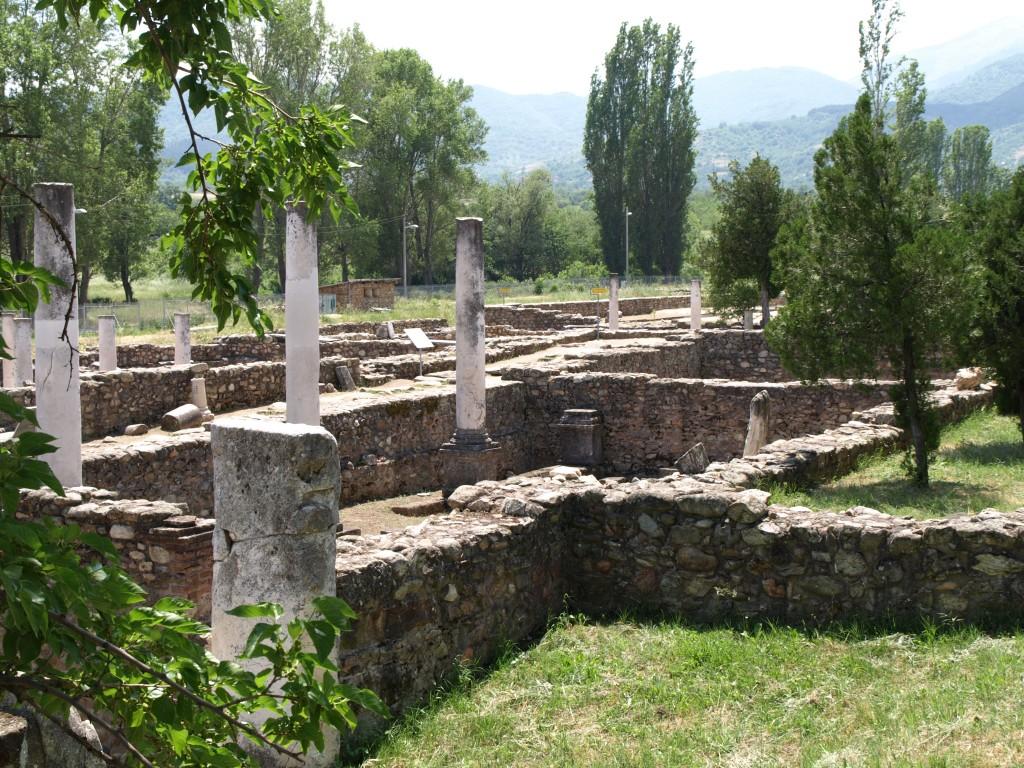Heraclea Lyncestis, ruinele unui bătrân oraș